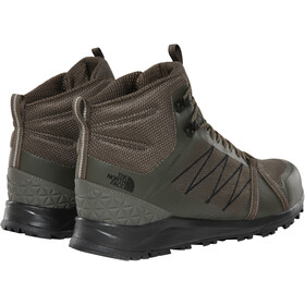 The North Face Litewave Fastpack II Mid GTX Shoes Herre new taupe green/tnf black